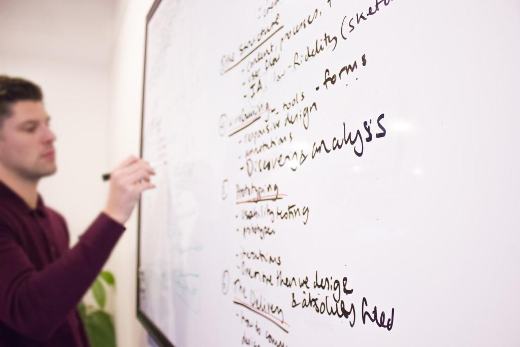 Whiteboard breakdown