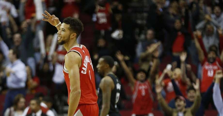 Houston Rockets three-pointers
