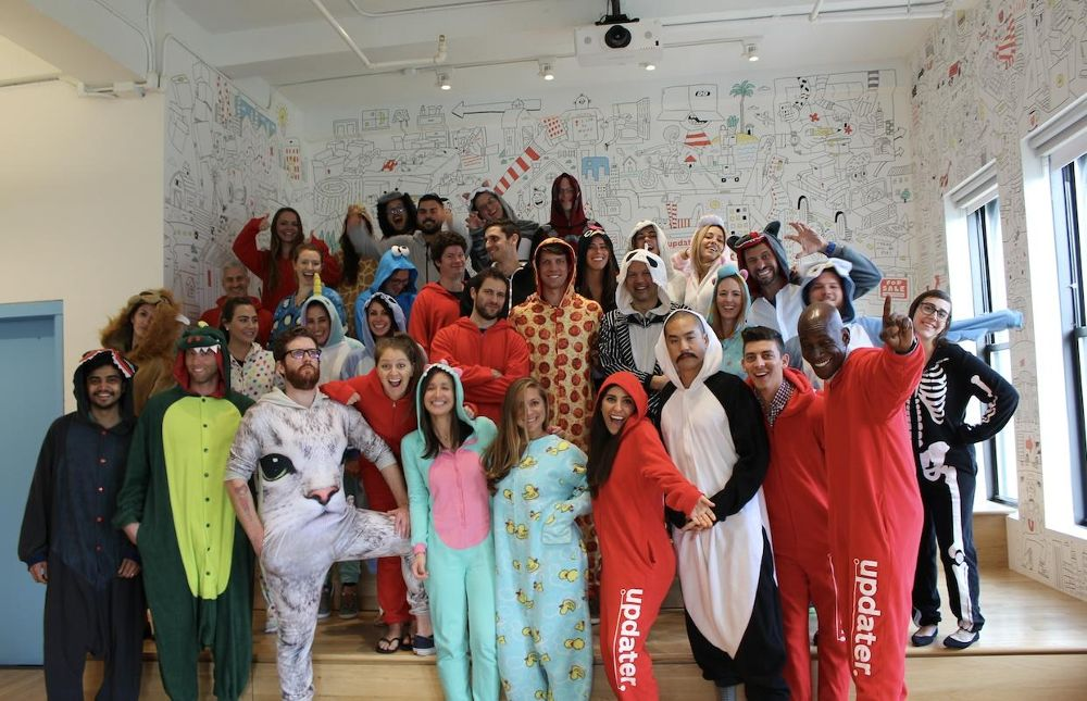 Updater onesie day