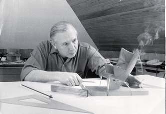 hans wegner designing chair porotype